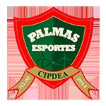 Escudo oficial do Palmas Futsal