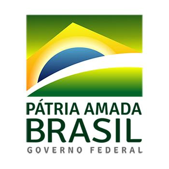 Logotipo oficial Pátria Amada Brasil Governo Federal