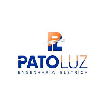 Logotipo oficial PatoLuz Engenharia Elétrica